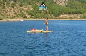 Let's SUP stand up paddle school serra estrela malcata