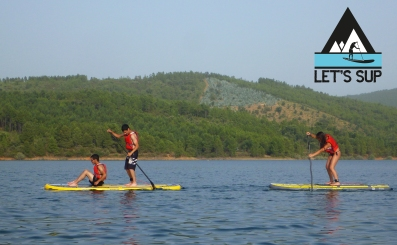 Let's SUP stand up paddle school