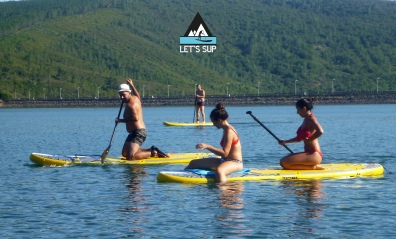 let's sup - Stand Up Paddle Group fun