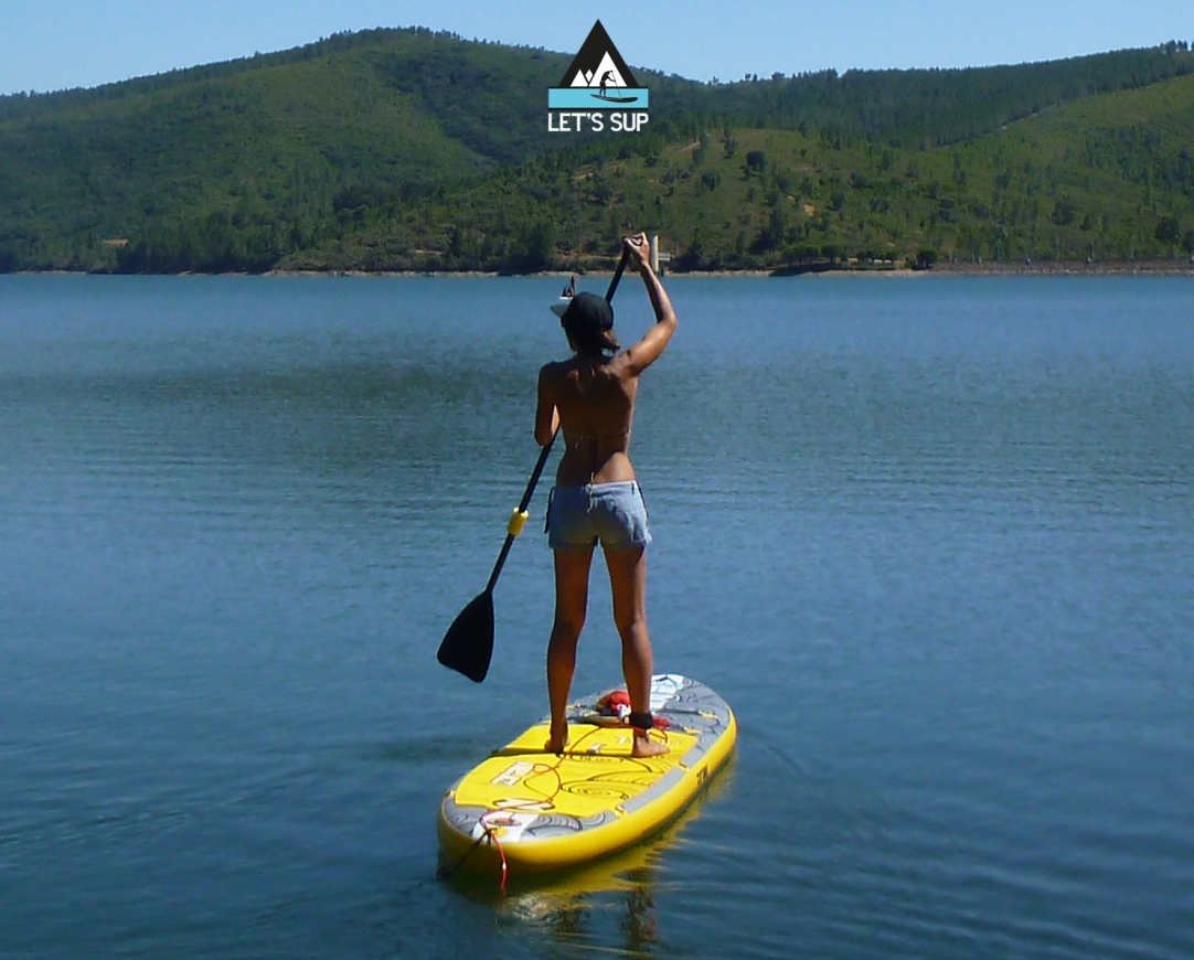 Let's SUP stand up paddle school serra estrela malcata