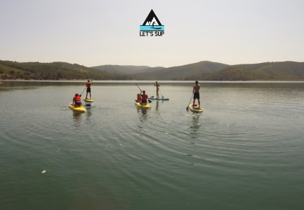 let's sup stand up paddle tours passeios yoga workout meimao