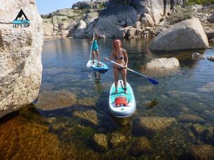 let's sup serra da estrela lagoa comprida passeio stand up paddle mais alto de portugal