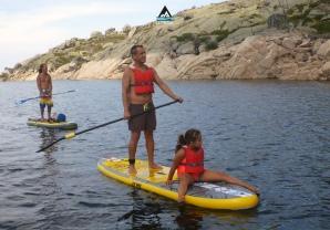 Let's SUP serra da estrela lagoa comprida stand up paddle school