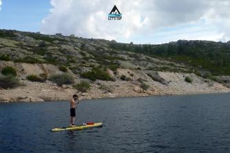 Let's SUP lagoa comprida serra da estrela stand up paddle passeio tours
