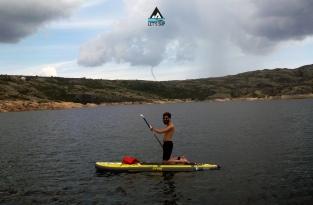 Let's SUP lagoa comprida serra da estrela stand up paddle passeio tours funnel cloud