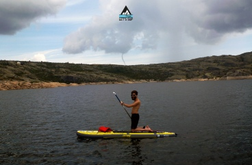 Let's SUP lagoa comprida serra da estrela stand up paddle passeio tours funnel cloud