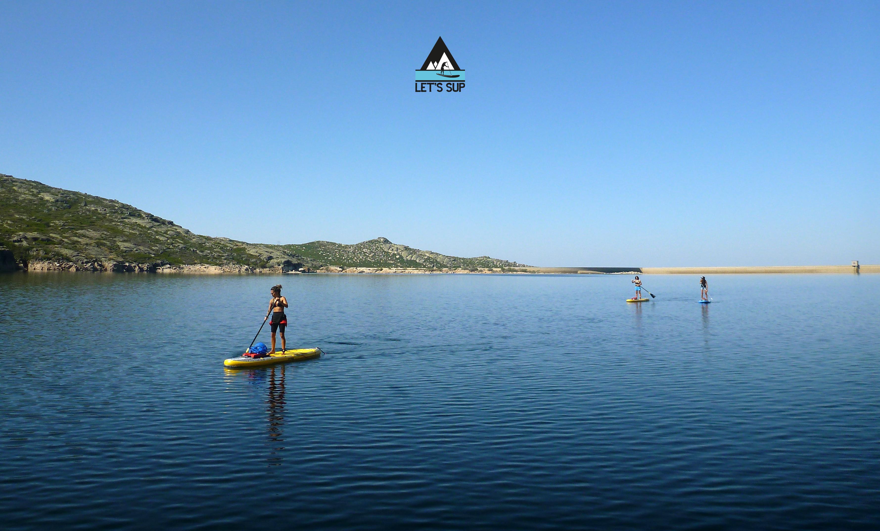 let's sup stand up paddle lagoa comprida serra da estrela o passeio de SUP mais alto de portugal