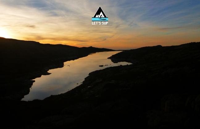 P1220312 - lets sup lagoa comprida sunset