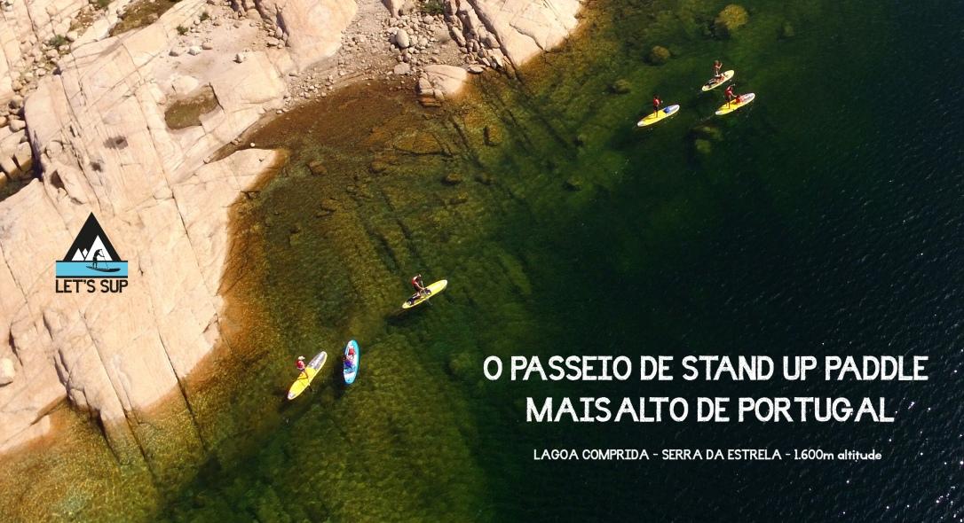 Let's Sup - O passeio de Stand Up Paddle mais alto de Portugal