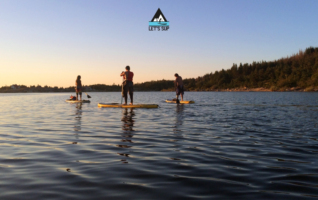 let's sup stand up paddle sunset sup tour pôr do sol vale do rossim serra da estrela
