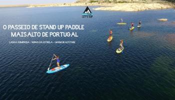 Lagoa Comprida Serra da Estrela #portugalshigheststanduppaddletour #opasseiodestanduppaddlemaisaltodeportugal