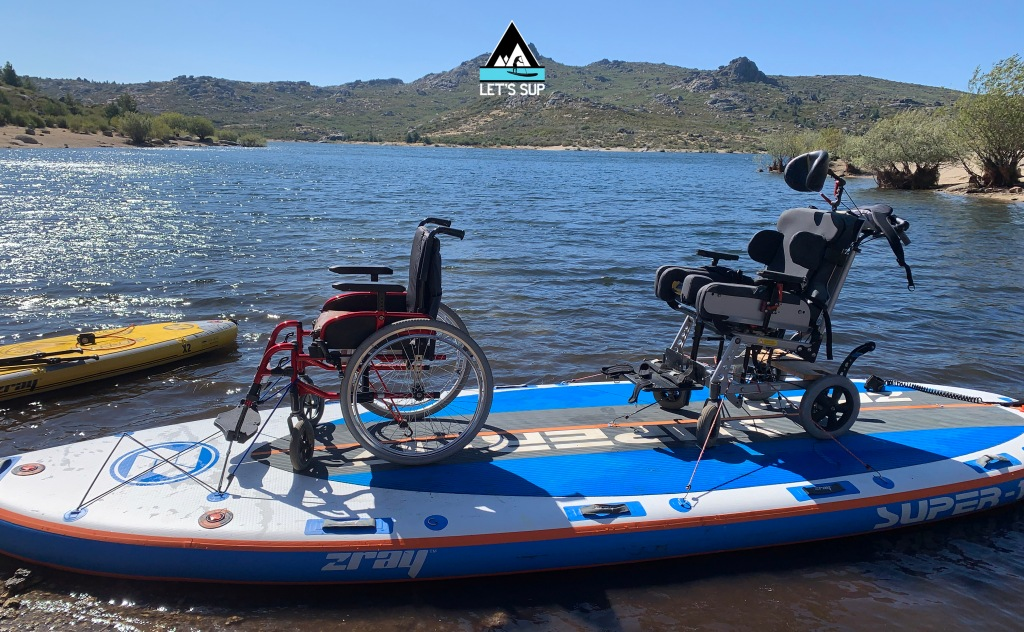 stand up paddle adaptado desporto para todos adaptive sup